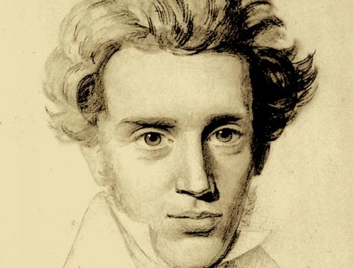 Fotografi efter blyantstegning udført ca. 1840 af N. C. Kierkegaard